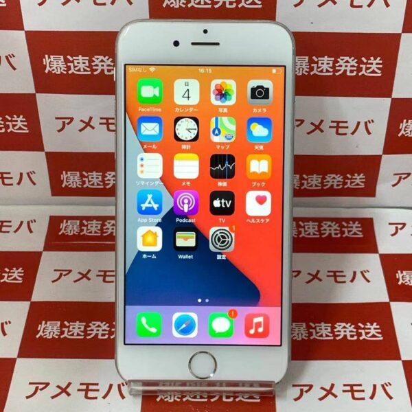 iPhone6s au版SIMフリー 64GB MKQP2J/A A1688-正面