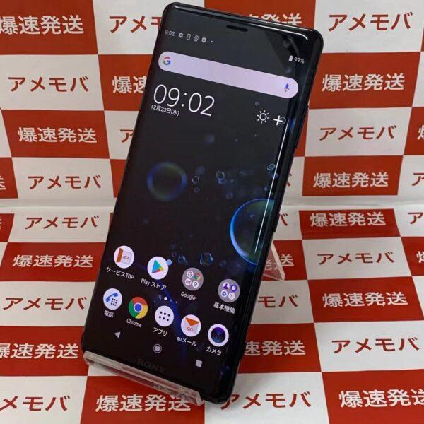 Xperia XZ3 SOV39 au 64GB SIMロック解除済み-正面