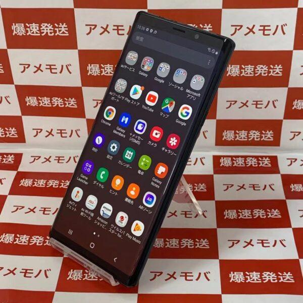 Galaxy Note9 SCV40 au 128GB SIMロック解除済み-正面