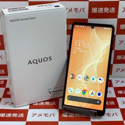 AQUOS sense4 basic Y!mobile 64GB SIMロック解除済み A003SH