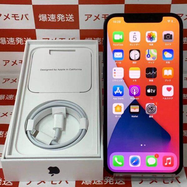 iPhone12 SoftBank版SIMフリー 64GB MGHN3J/A A2402-正面