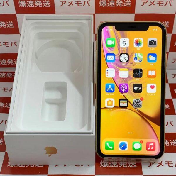 iPhoneXR au版SIMフリー 64GB MT082J/A A2106-正面