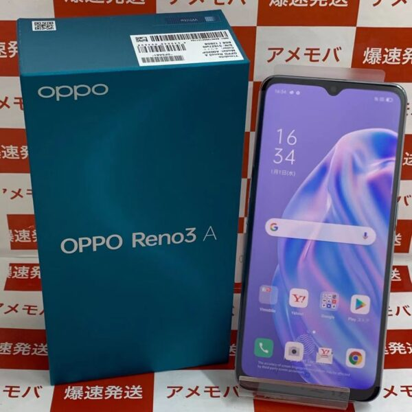 OPPO Reno3 A Y!mobile 128GB SIMロック解除済み A002OP正面