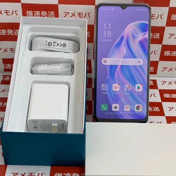 OPPO Reno3 A Y!mobile 128GB SIMロック解除済み A002OP-正面
