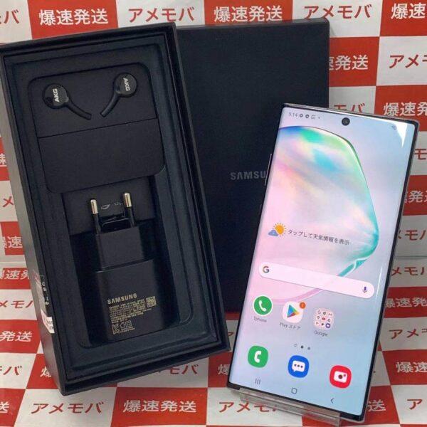 Galaxy Note10+ SIMフリー 256GB 韓国版 5G対応 SM-N976N-正面