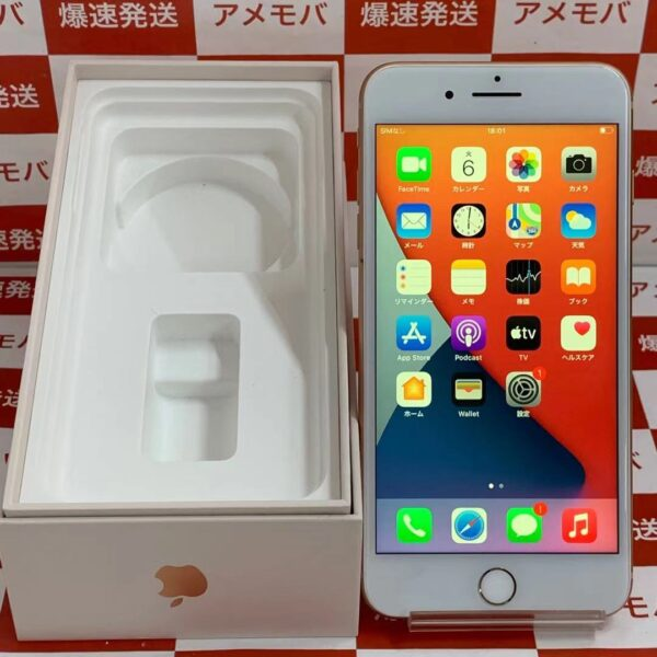 iPhone8 Plus au版SIMフリー 64GB MQ9M2J/A A1898-正面