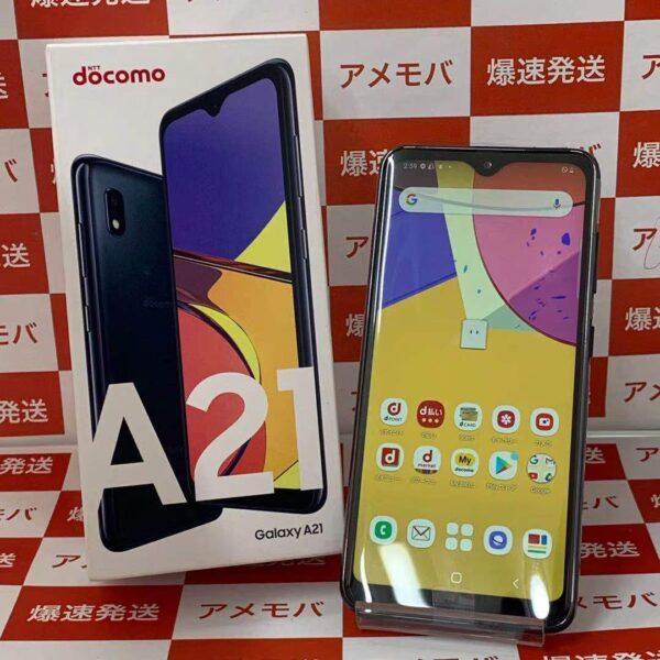 Galaxy A21 SC-42A docomo 64GB SIMロック解除済み-正面