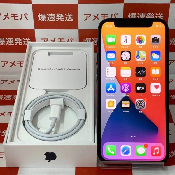 iPhone12 mini SoftBank版SIMフリー 64GB MGA03J/A A2398-正面