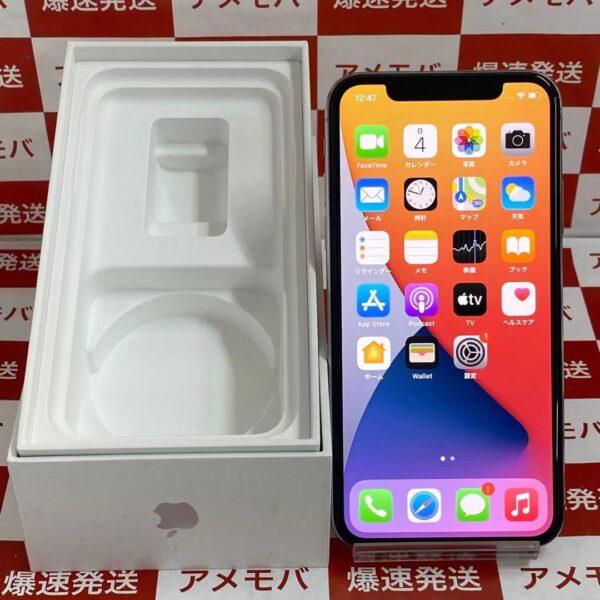 iPhoneX au版SIMフリー 256GB MQC22J/A A1902-正面