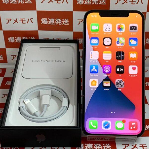 iPhone12 Pro Apple版SIMフリー 256GB MGM93J/A A2406-正面