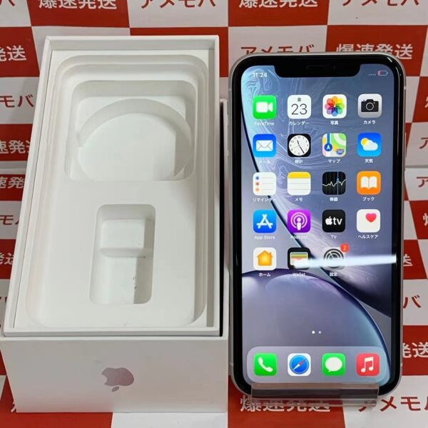 iPhoneXR au版SIMフリー 64GB MT0J2J/A A2106-正面