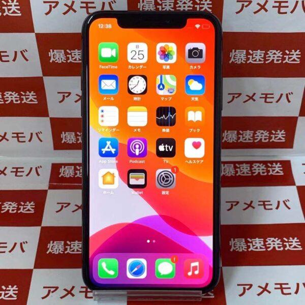 iPhoneX au版SIMフリー 256GB NQC12J/A A1902-正面