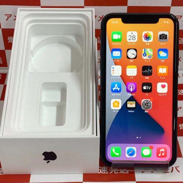 iPhone11 SoftBank版SIMフリー 128GB MWM02J/A A2221-正面