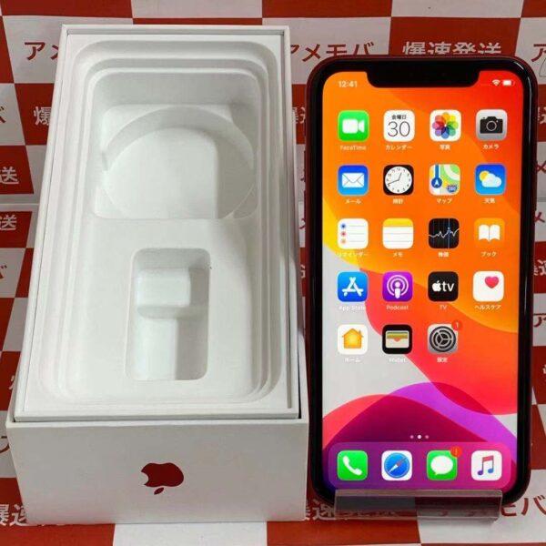 iPhone11 au版SIMフリー 128GB MWM32J/A A2221-正面