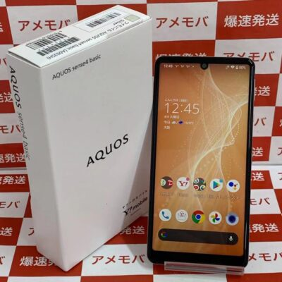 AQUOS sense4 basic Y!mobile 64GB A003SH SIMロック解除済み