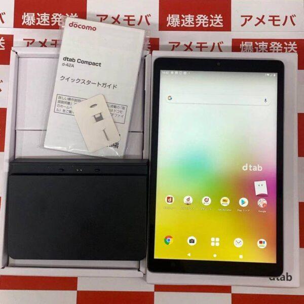 dtab Compactd-42A docomo 64GB eSIM専用機-正面