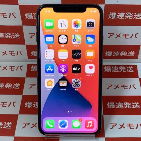 iPhoneX au版SIMフリー 64GB MQAX2J/A A1902-正面