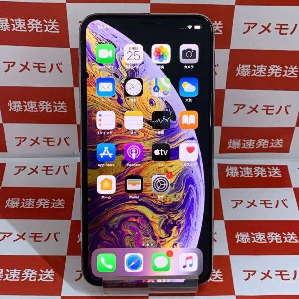 iPhoneXS Max au版SIMフリー 64GB MT6R2J/A A2102-正面