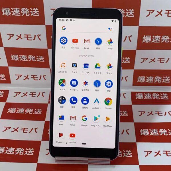 Google Pixel 3a SoftBank 64GB SIMロック解除済み-正面