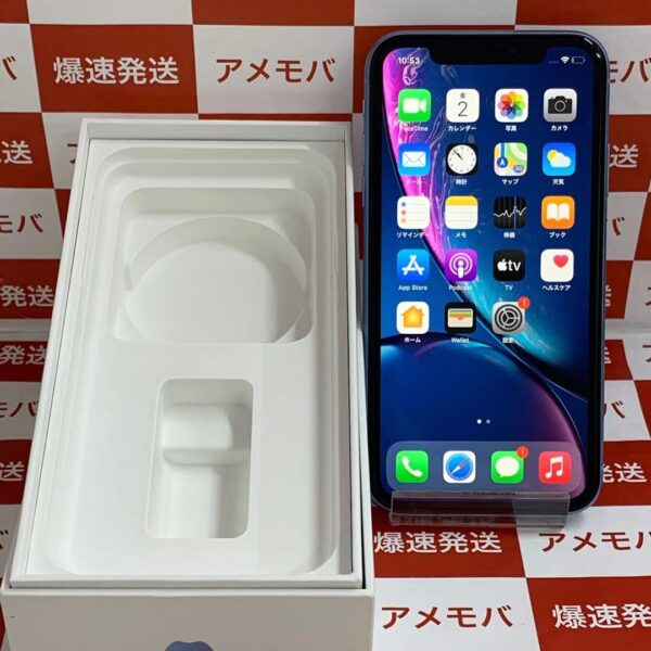 iPhoneXR au版SIMフリー 64GB MT0E2J/A A2106-正面