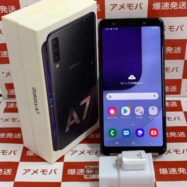 Galaxy A7 SM-A750C 楽天版SIMフリー 64GB 新品同様品-正面