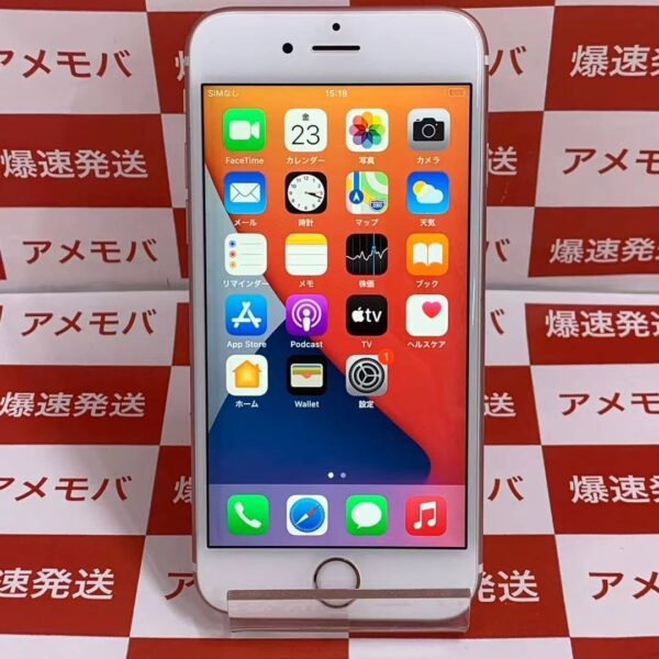 iPhone6s au版SIMフリー 64GB MKQR2J/A A1688-正面