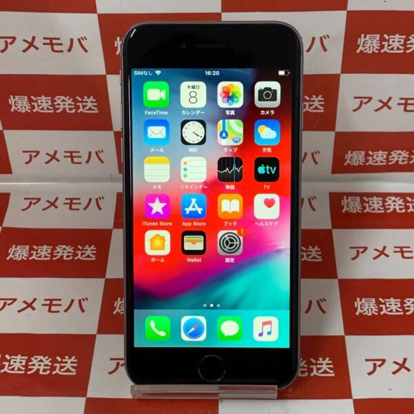 iPhone6 au 64GB NG4F2J/A A1586-正面