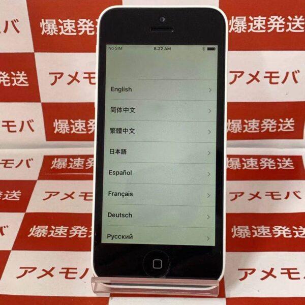 iPhone5c au 16GB ME541J/A A1456-正面