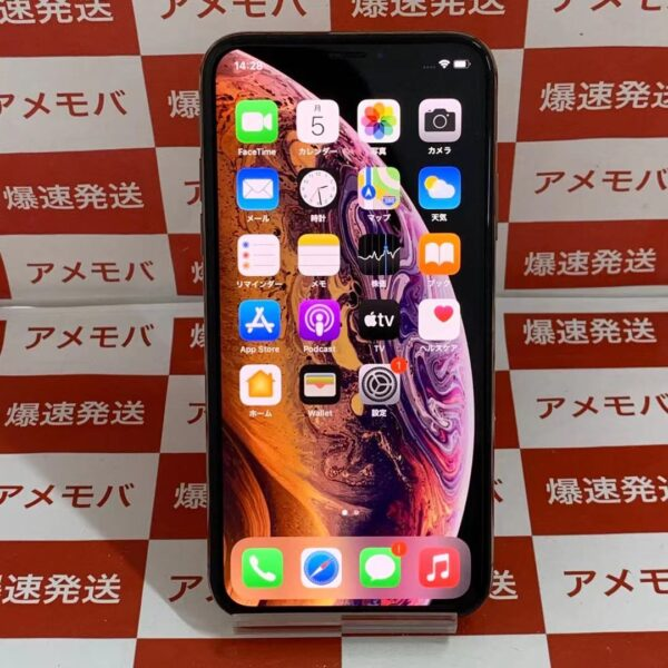 iPhoneXS Apple版SIMフリー 256GB MTE2 J/A A2098-正面
