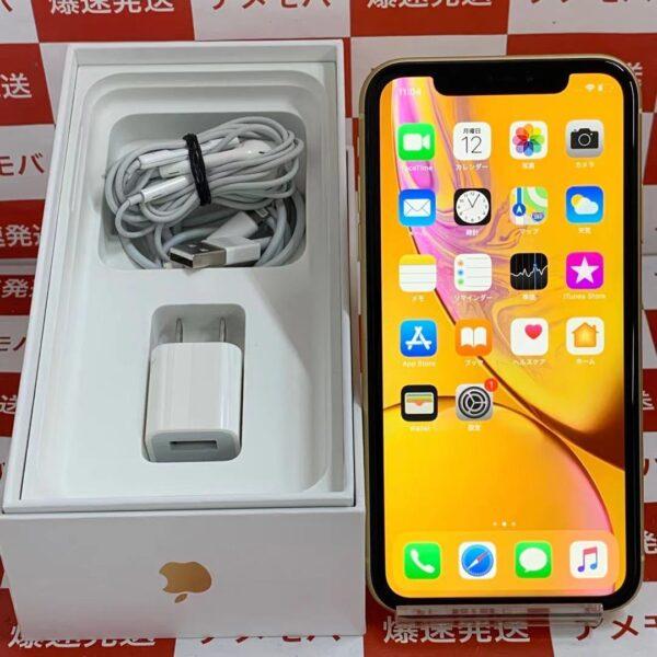 iPhoneXR au版SIMフリー 256GB MT0Y2J/A A2106-正面