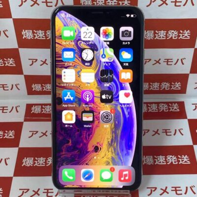 iPhoneXS SoftBank版SIMフリー 256GB MTE12J/A A2098