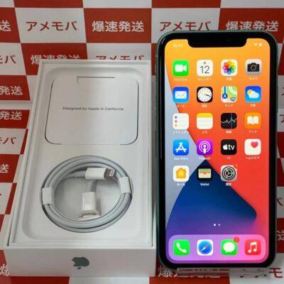 iPhone11 UQ版SIMフリー 64GB MHDG3J/A A2221