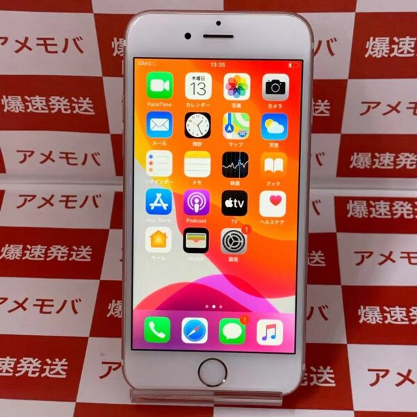 iPhone6s SoftBank版SIMフリー 16GB MKQM2J/A A1688-正面