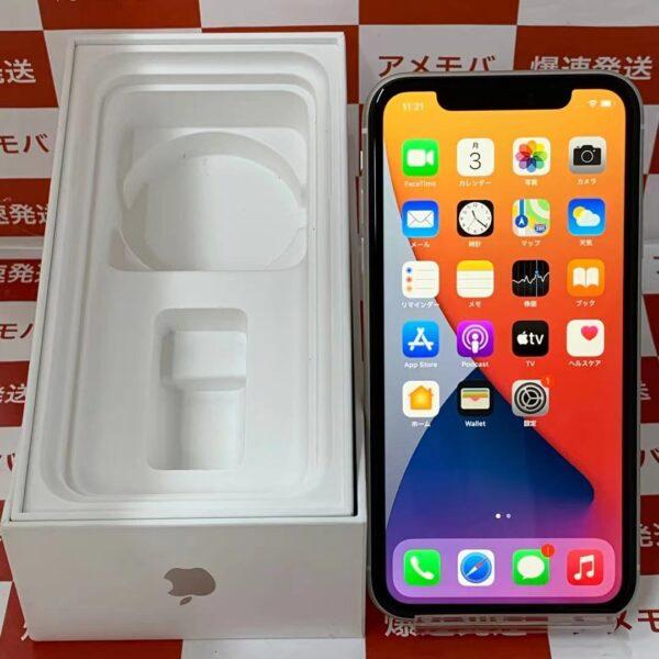 iPhone11 Apple版SIMフリー 128GB MWM22J/A A2221-正面