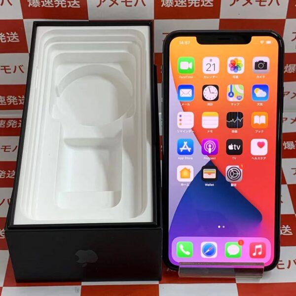 iPhone11 Pro Max au版SIMフリー 64GB MWHH2J/A A2218-正面