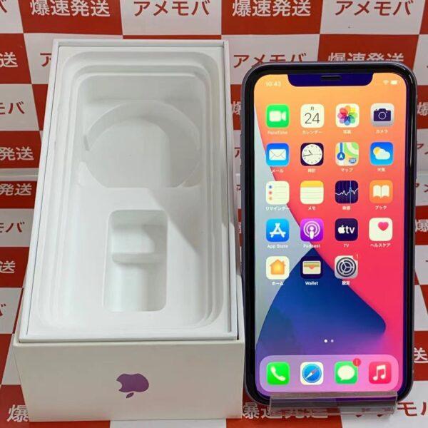 iPhone11 docomo版SIMフリー 256GB MWMC2J/A A2221-正面