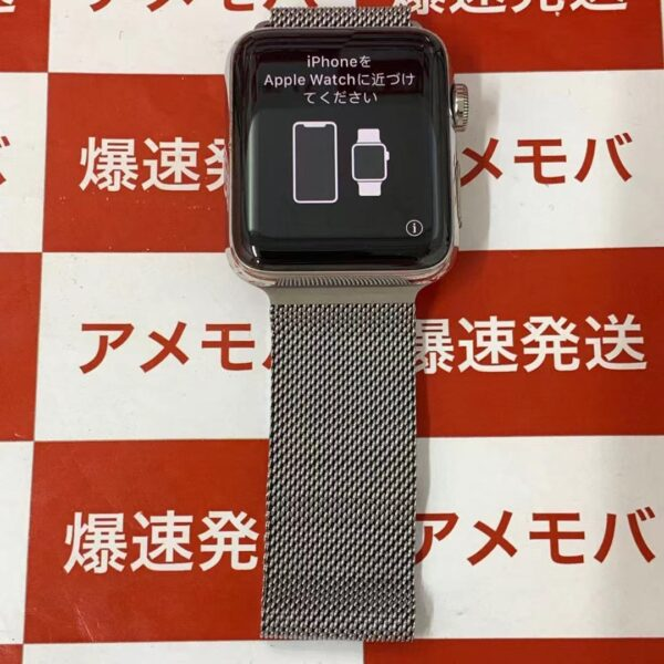Apple Watch Series 3 GPS + Cellularモデル 42mm MQLY2J/A A1891-正面