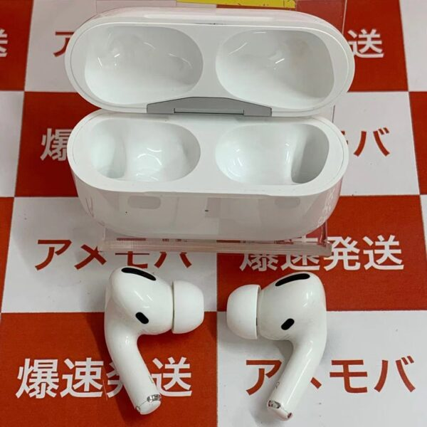 AirPods Pro MWP22J/A ワイヤレスイヤホン-正面