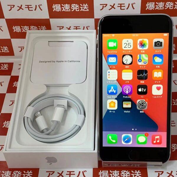 iPhoneSE 第2世代 Apple版SIMフリー 64GB MX9T2J/A A2296-正面