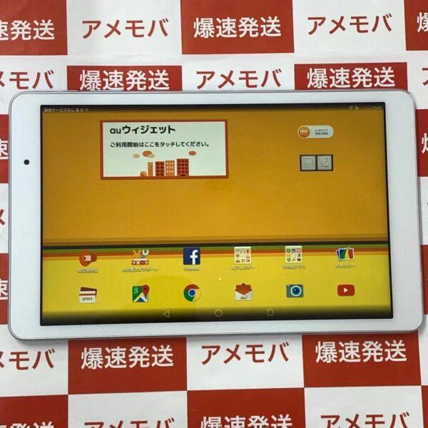 Qua tab 02 HWT31 au 16GB SIMロック解除済み-正面