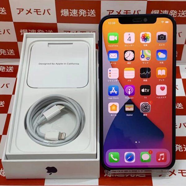 iPhone12 Apple版SIMフリー 256GB MGJ33J/A A2402-正面