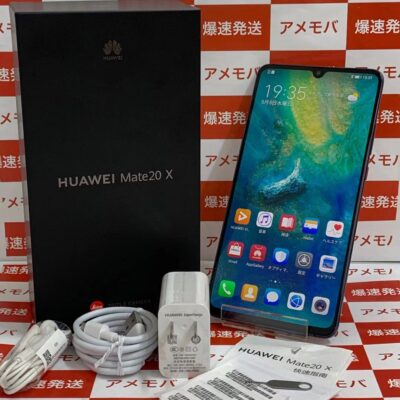 HUAWEI Mate 20 X 海外版SIMフリー 128GB EVR-AL00 デュアルSIM