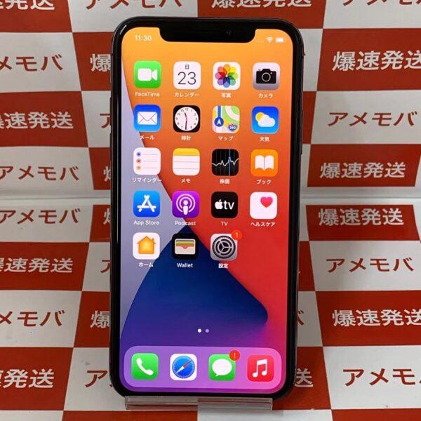 iPhoneX Apple版SIMフリー 256GB NQC12J/A A1902-正面