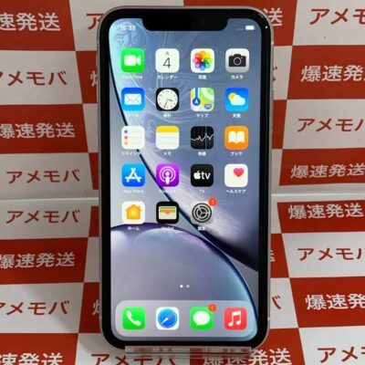 iPhoneXR SoftBank版SIMフリー 256GB MT0W2J/A A2106