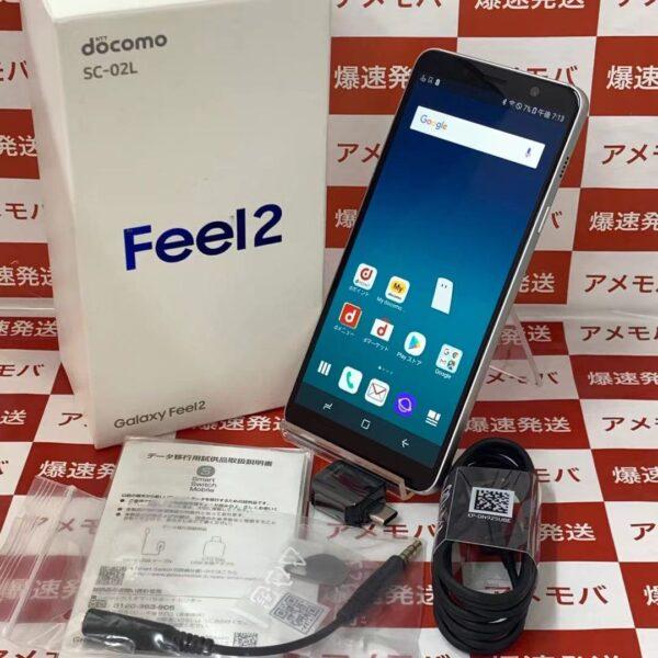 Galaxy Feel2 SC-02L docomo 32GB SIMロック解除済み-正面