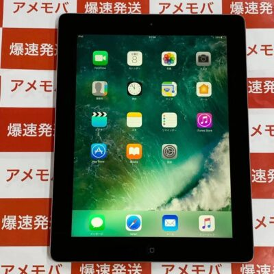 iPad 第4世代 Wi-Fiモデル 128GB ME392J/A A1458