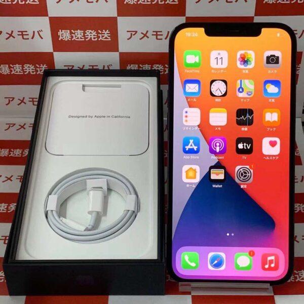 iPhone12 Pro Max Apple版SIMフリー 256GB MGD23J/A A2410-正面