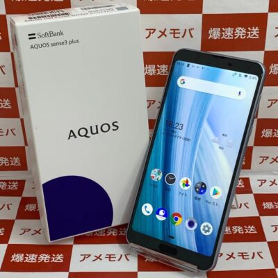 AQUOS sense3 plus SoftBank 128GB SIMロック解除済み 901SH