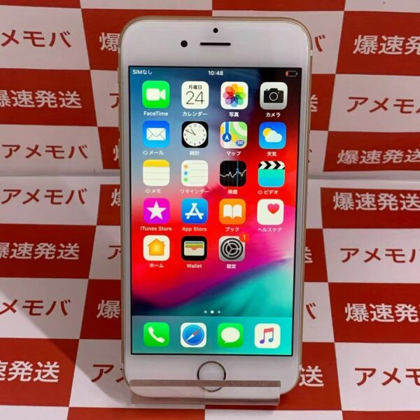 iPhone6 au 64GB NG4J2J/A A1586-正面