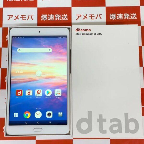 dtab Compact d-02K docomo 32GB SIMロック解除済み-正面